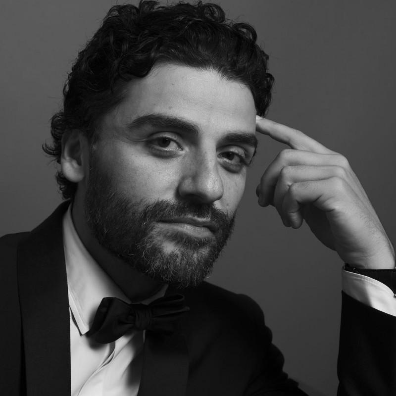 Oscar Isaac photographed by Inez & Vinoodh.