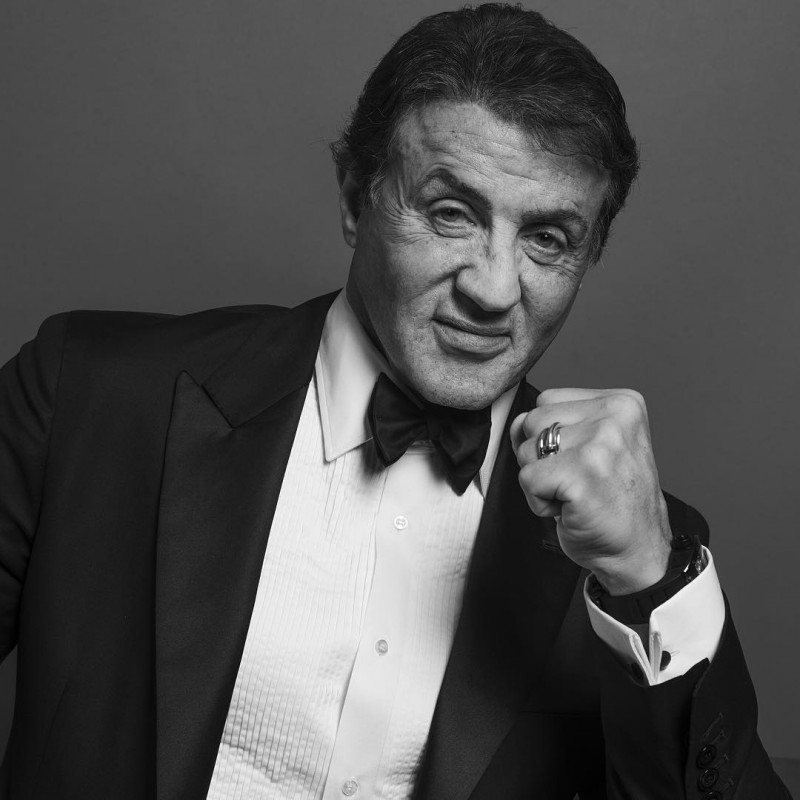Sylvester Stallone photographed by Inez & Vinoodh.