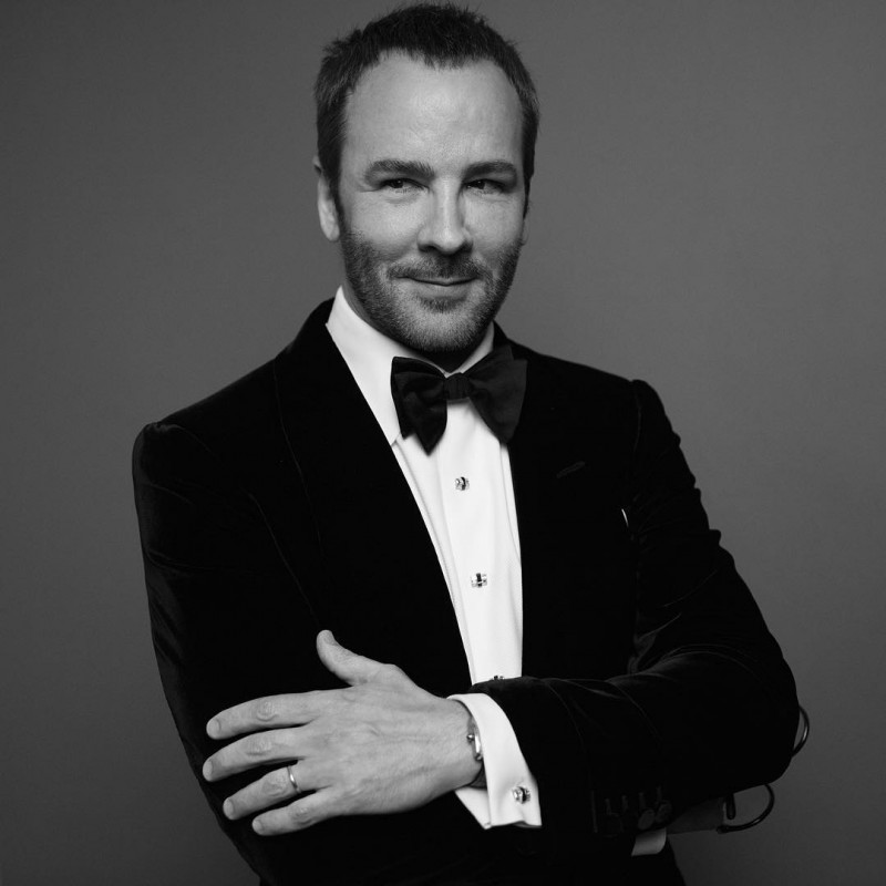 Tom Ford photographed by Inez & Vinoodh.