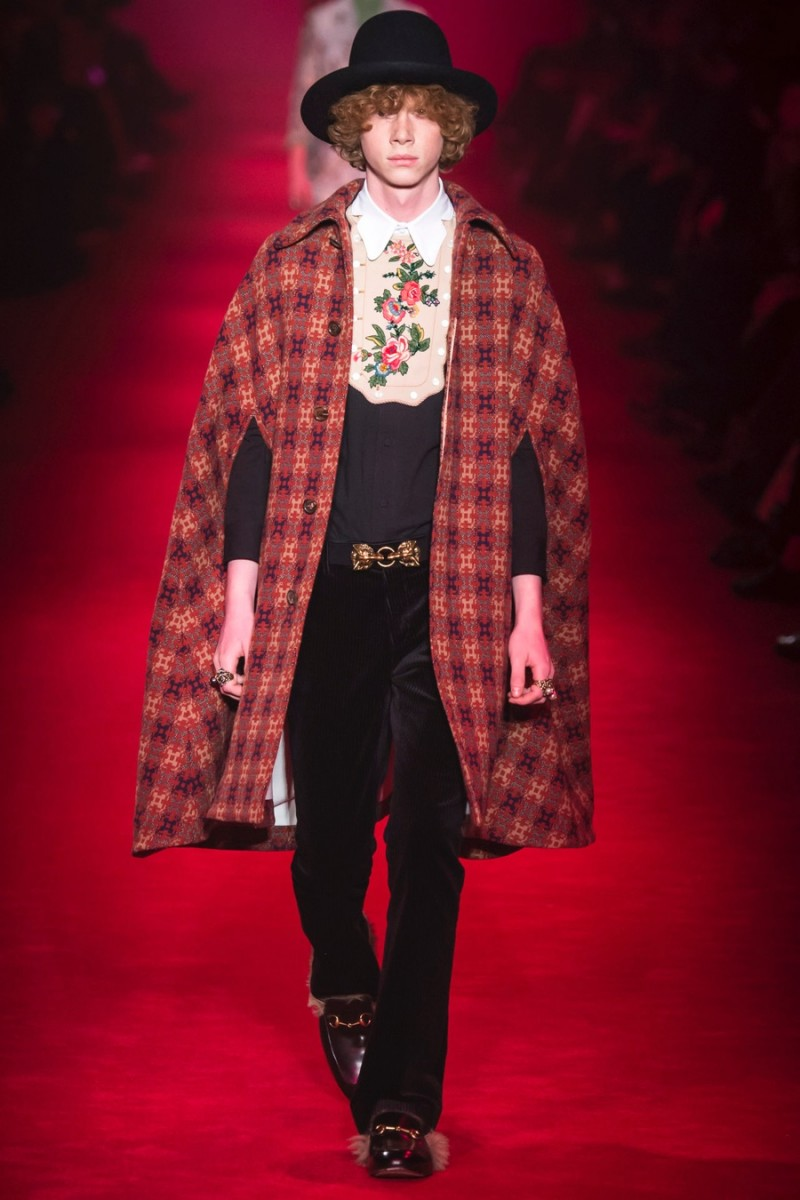 Gucci 2016 Fall Winter Men S Collection The Fashionisto