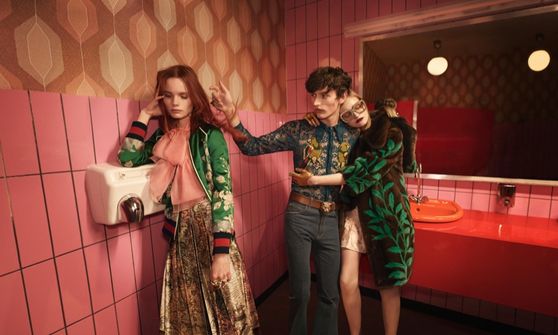 Gucci Spring/Summer 2016 Campaign photographed by Glen Luchford