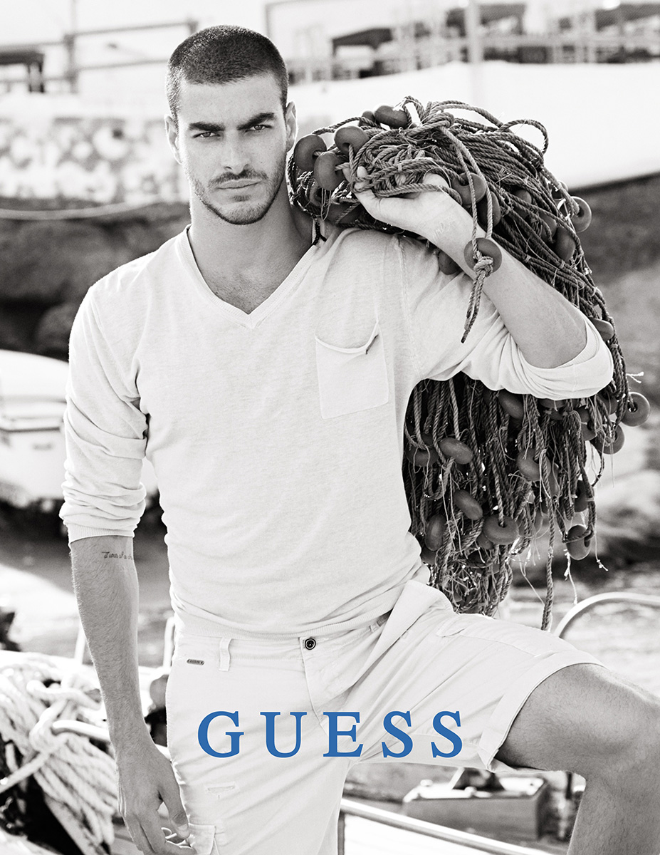 GUESS Embraces White Hot Styles for Spring Campaign