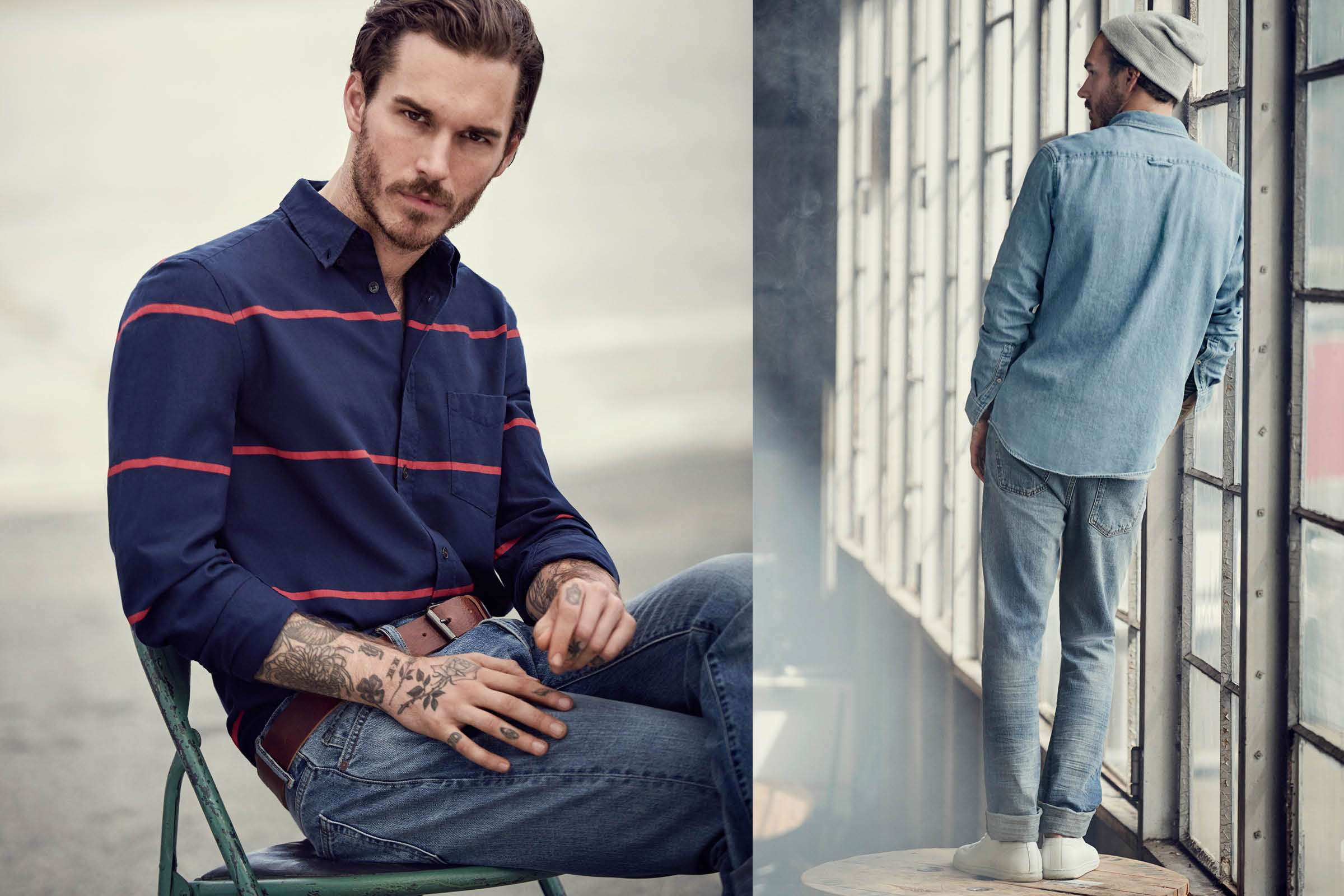 H Amp M Presents Casual Classics For The Outdoor Man The