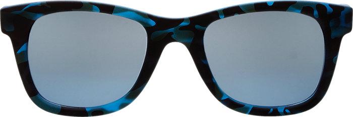 Italia Independent i Plastik Sunglasses in Blue