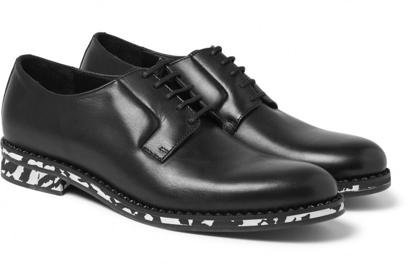 Jimmy Choo Alaric Leather Derby Shoes