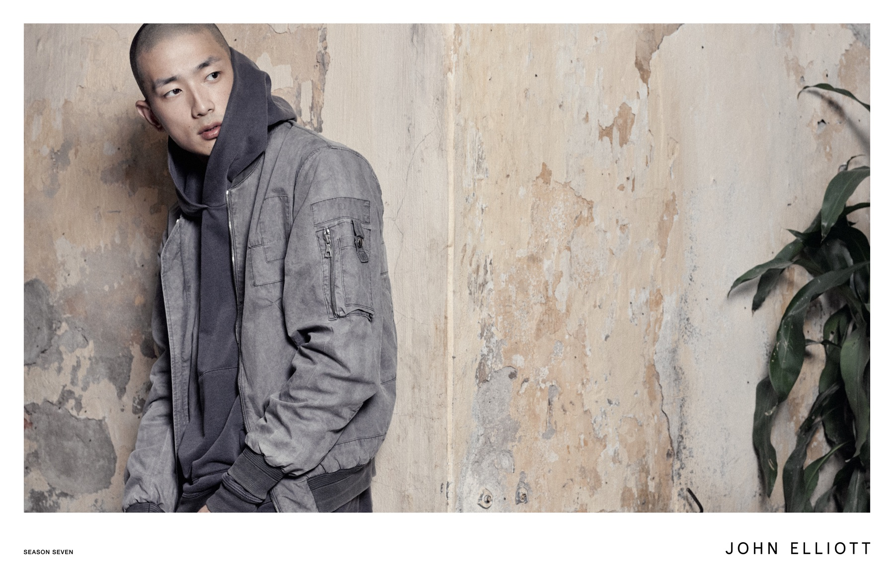 John Elliott Embraces Shades of Grey for Spring Campaign