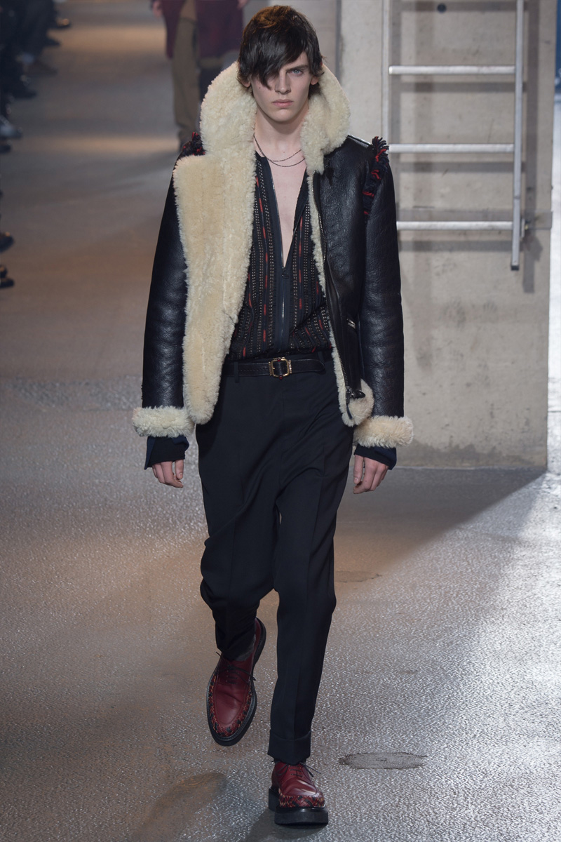 Lanvin Embraces Relaxed Rock Aesthetic for Fall