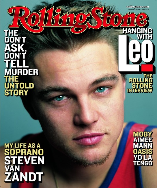 Leonardo DiCaprio covers the August 2000 issue of Rolling Stone.