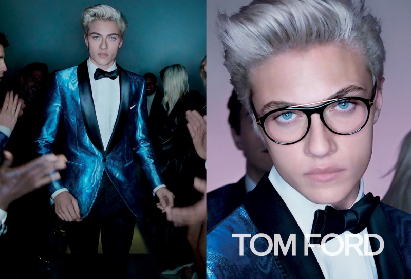 Tom Ford Spring/Summer 2016 Campaign featuring Lucky Blue Smith