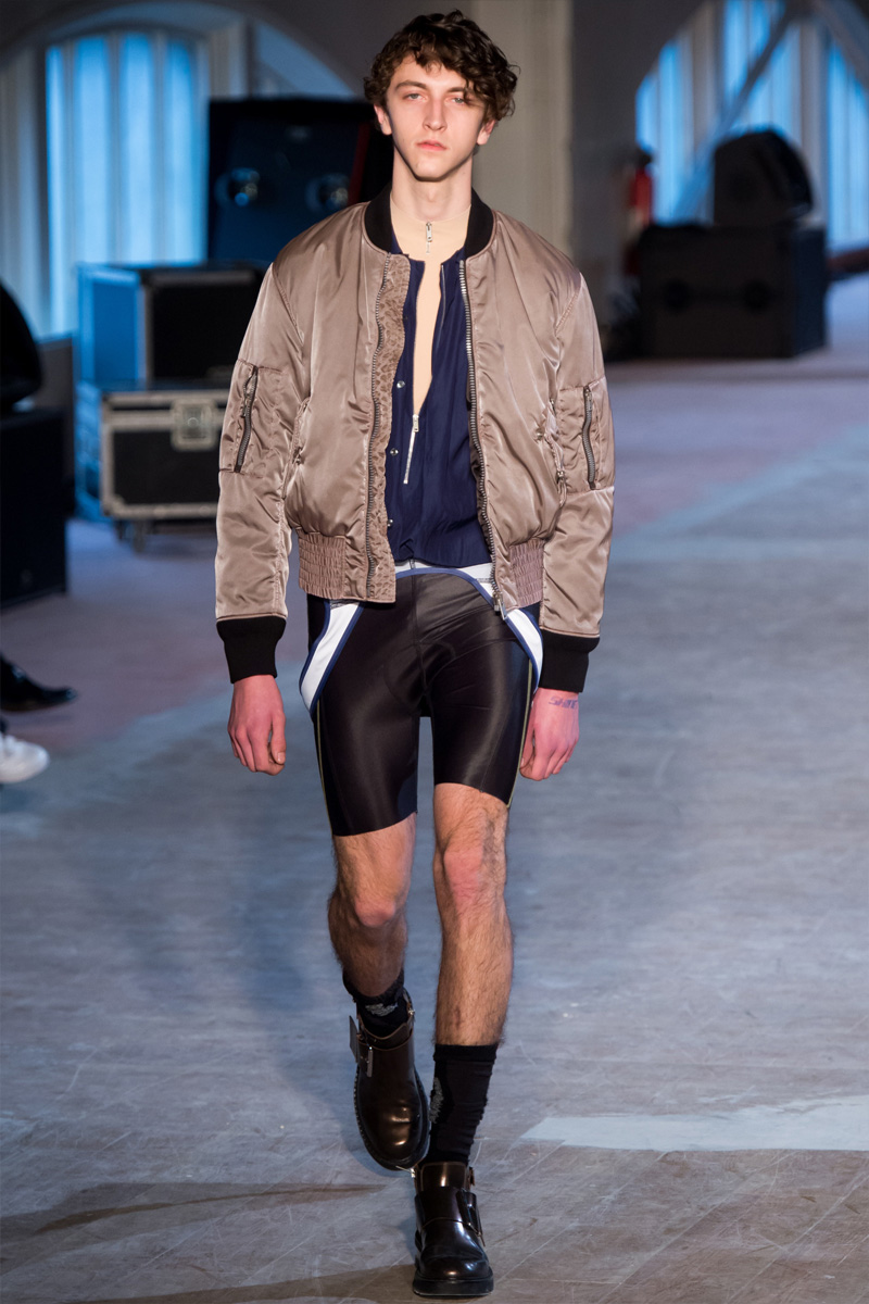 Maison Margiela Does Rebellious Take on Sporty Fashions for Fall