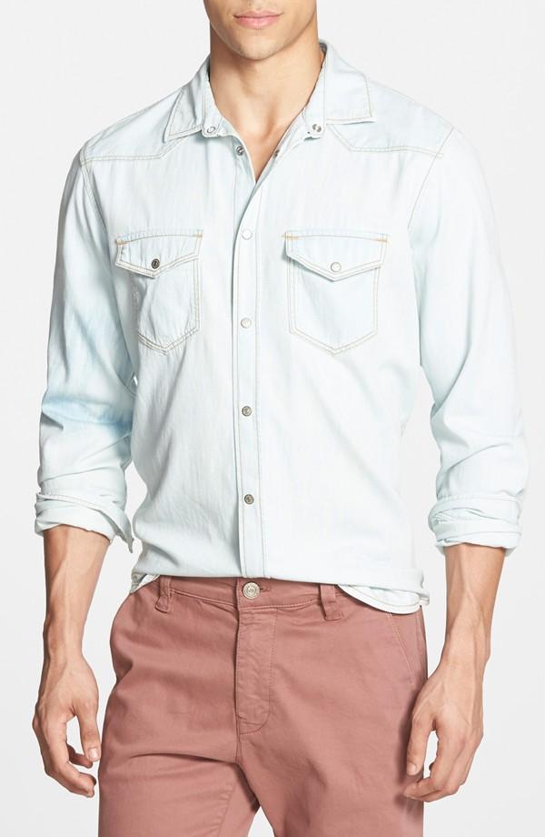 Mavi Andy Long-Sleeve Denim Shirt