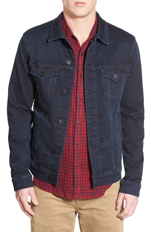 Mavi Frank Coated Denim Jacket