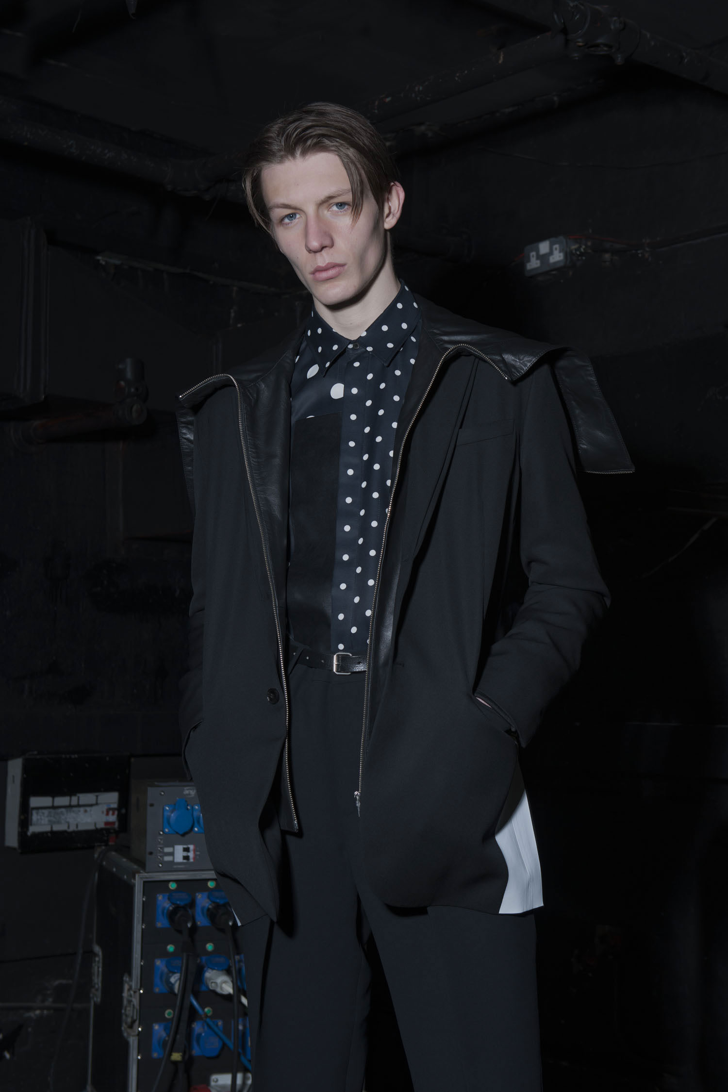 Black Revival: McQ Goes Sporty for Fall