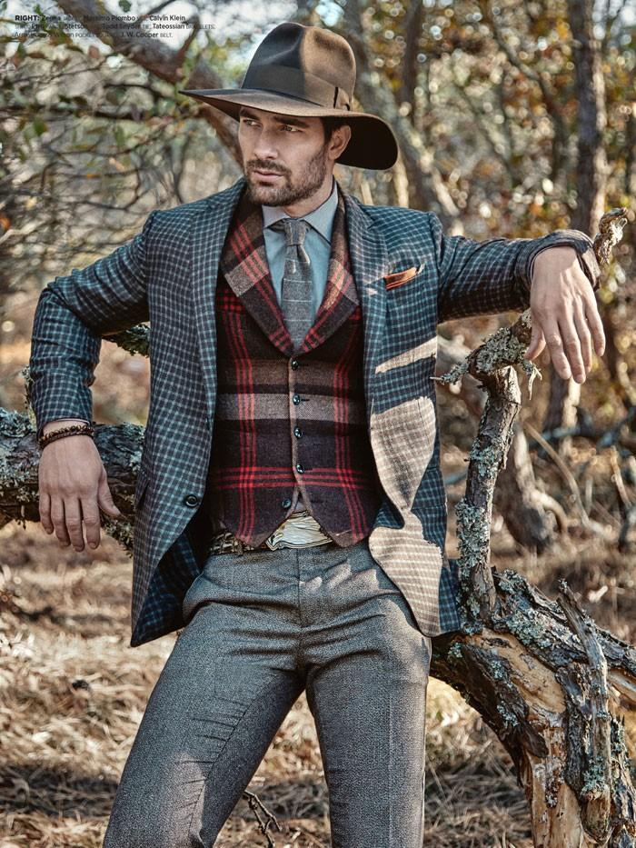 MR Mixes Patterns & Textures for Sartorial Suiting Shoot