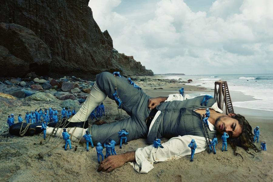 Moncler Channels Gulliver's Travels for Spring Ad