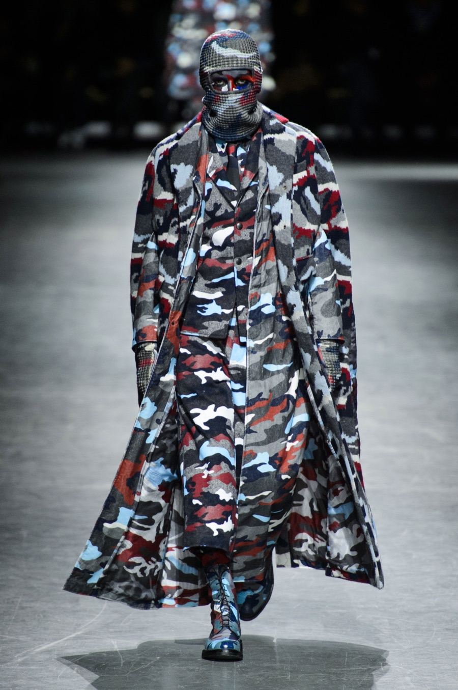 3fda8b14dc41 Moncler Gamme Bleu Does Camouflage for Fall Collection