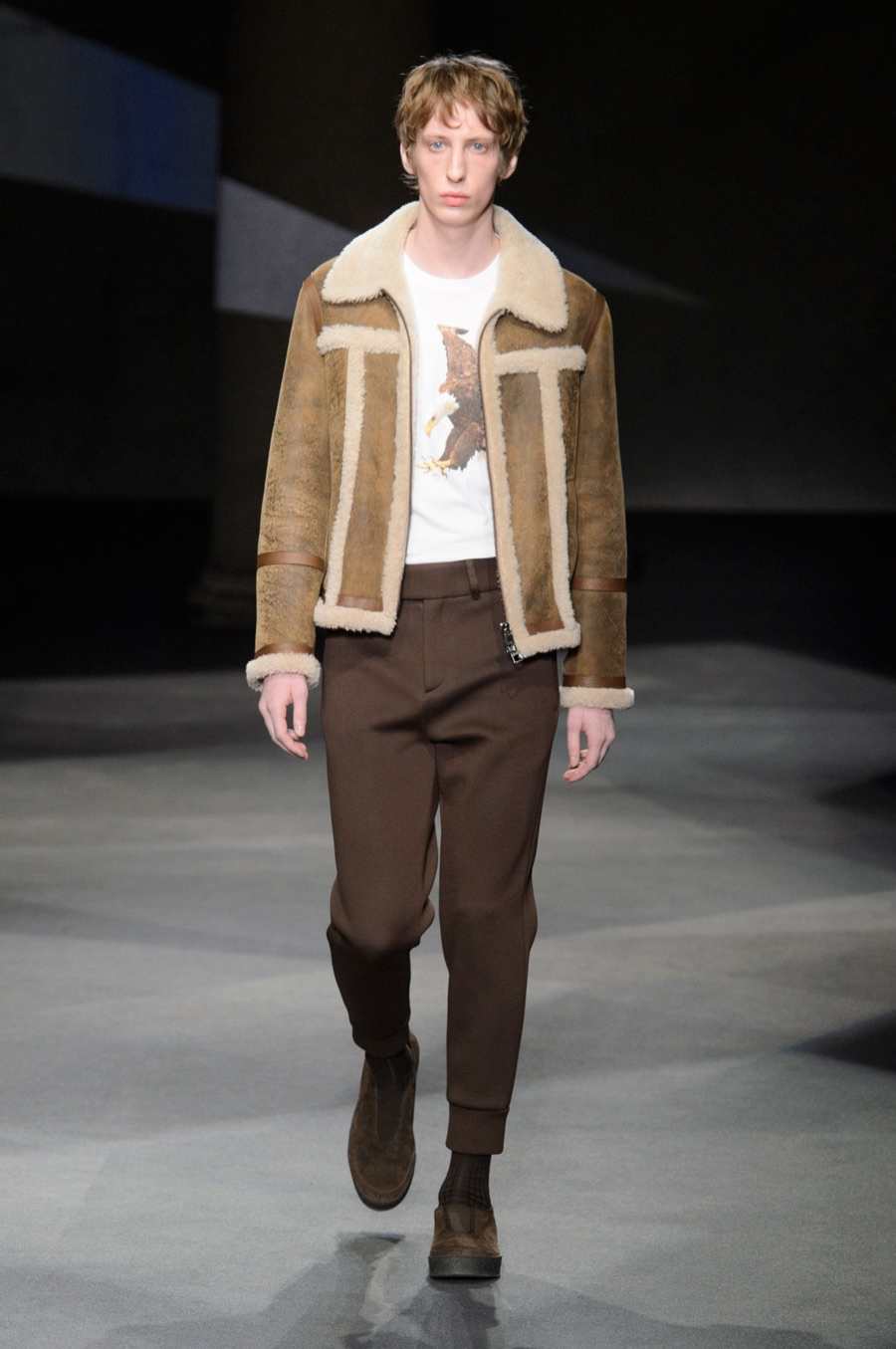 Neil Barrett Channels 1970s Style for Fall Collection