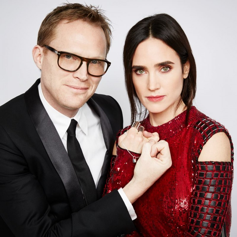 Paul Bettany and Jennifer Connelly photographed by Patrick Demarchelier for the 2016 UNICEF Ball.