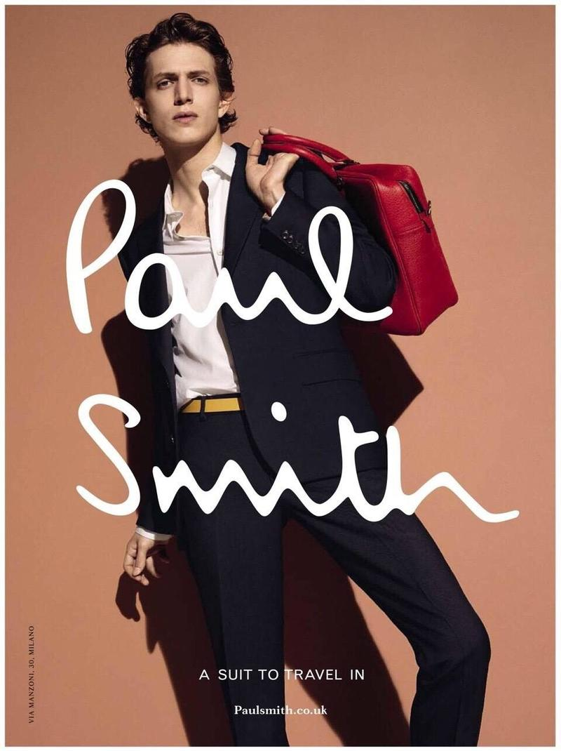 Paul Smith Cuts a Sharp Figure for Spring Ad