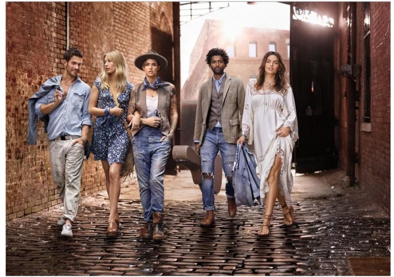 Ralph Lauren Denim   Supply 2016 Spring Summer Campaign  4342b520e6b8