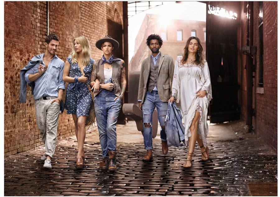 Ralph Lauren Denim & Supply Channels Artist Style for Spring Campaign