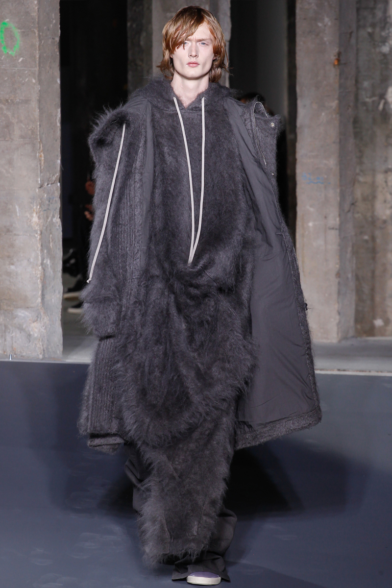 Rick Owens Embraces Volume for Fall Collection