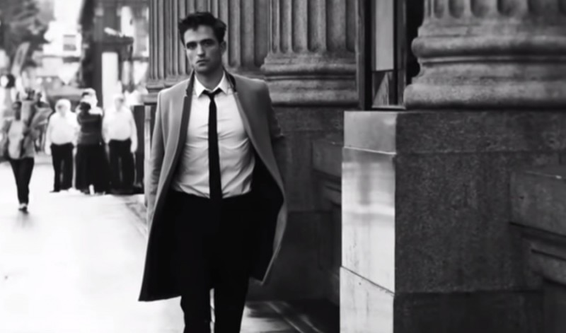 Robert Pattinson heads out in the Big Apple for Dior Homme's Intense City fragrance campaign.