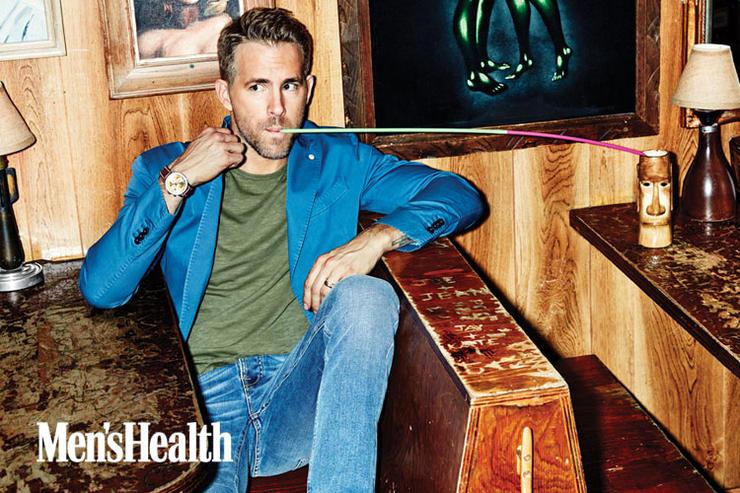 Ryan Reynolds Covers Men's Health, Talks Workout Routine