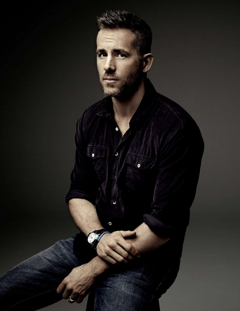 Ryan Reynolds photographed by Art Streiber for Empire magazine.