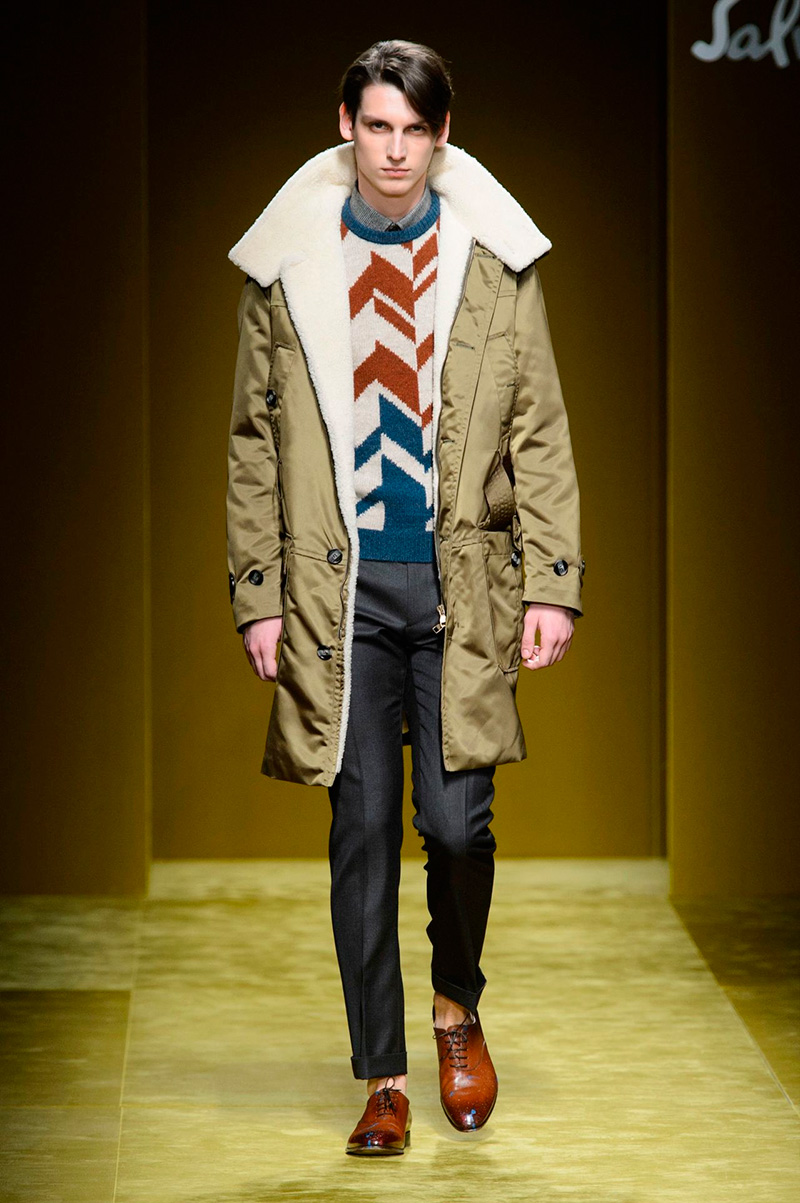 Salvatore Ferragamo Brings Relaxed Artistry to Fall Collection