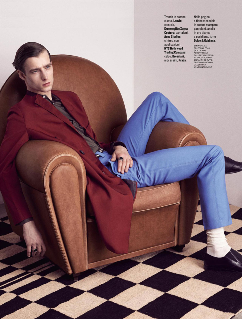 Style Magazine Features Relaxed Spring Tailoring & Trench Coats