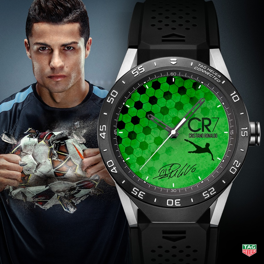 Cristiano Ronaldo, Tom Brady + More Design TAG Heuer Connected Watches