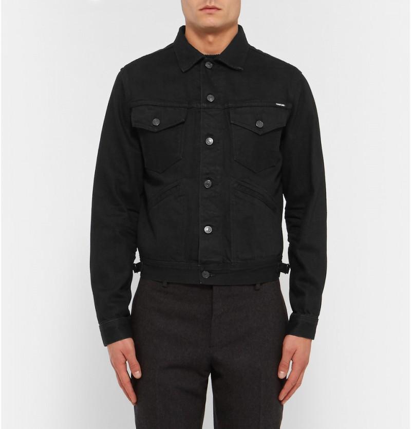 Tom Ford Slim-Fit Denim Jacket