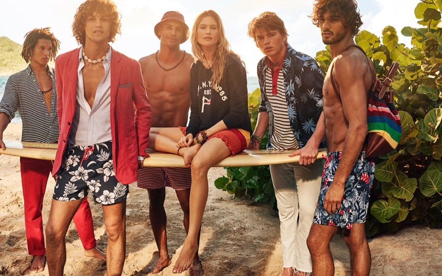 Wish You Were Here: Tommy Hilfiger Goes Island Hopping for Spring Ads