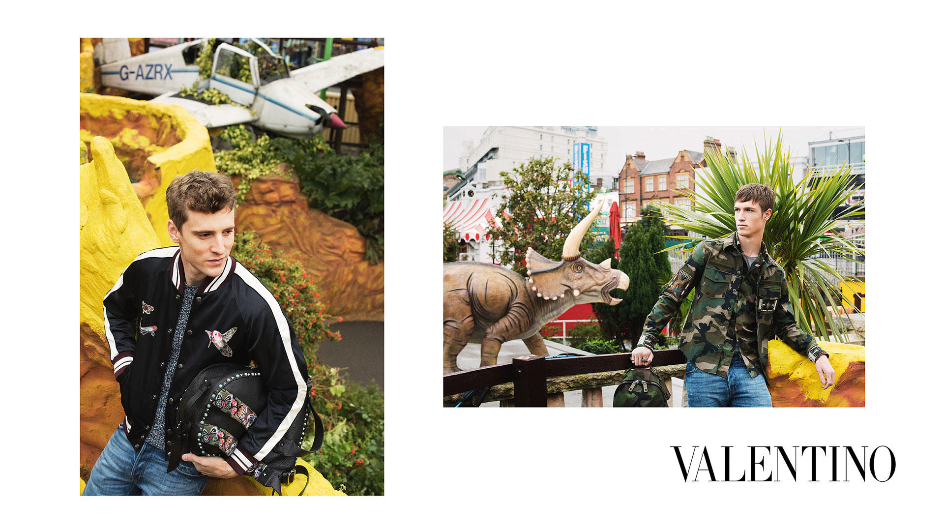 Valentino Heads to Adventure Island for Spring Campaign