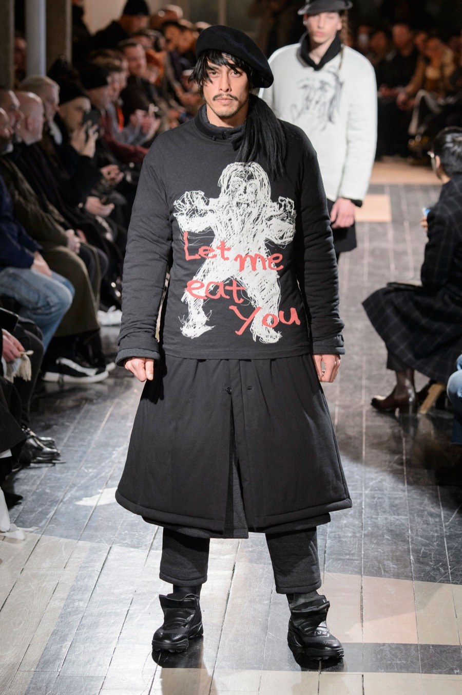 Yohji Yamamoto Pumps Up the Volume for Fall Collection