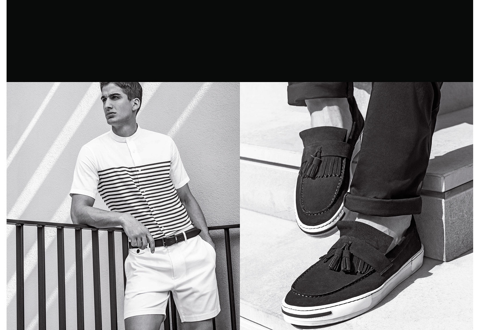 Armani Jeans Embraces Smart Styles for Spring