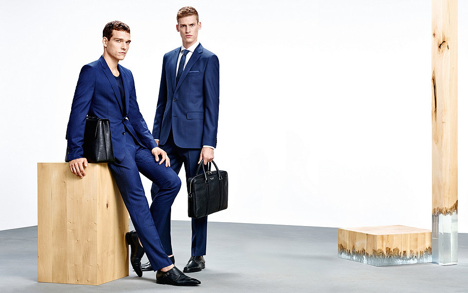 BOSS Makes a Case for Blue Spring Tailoring