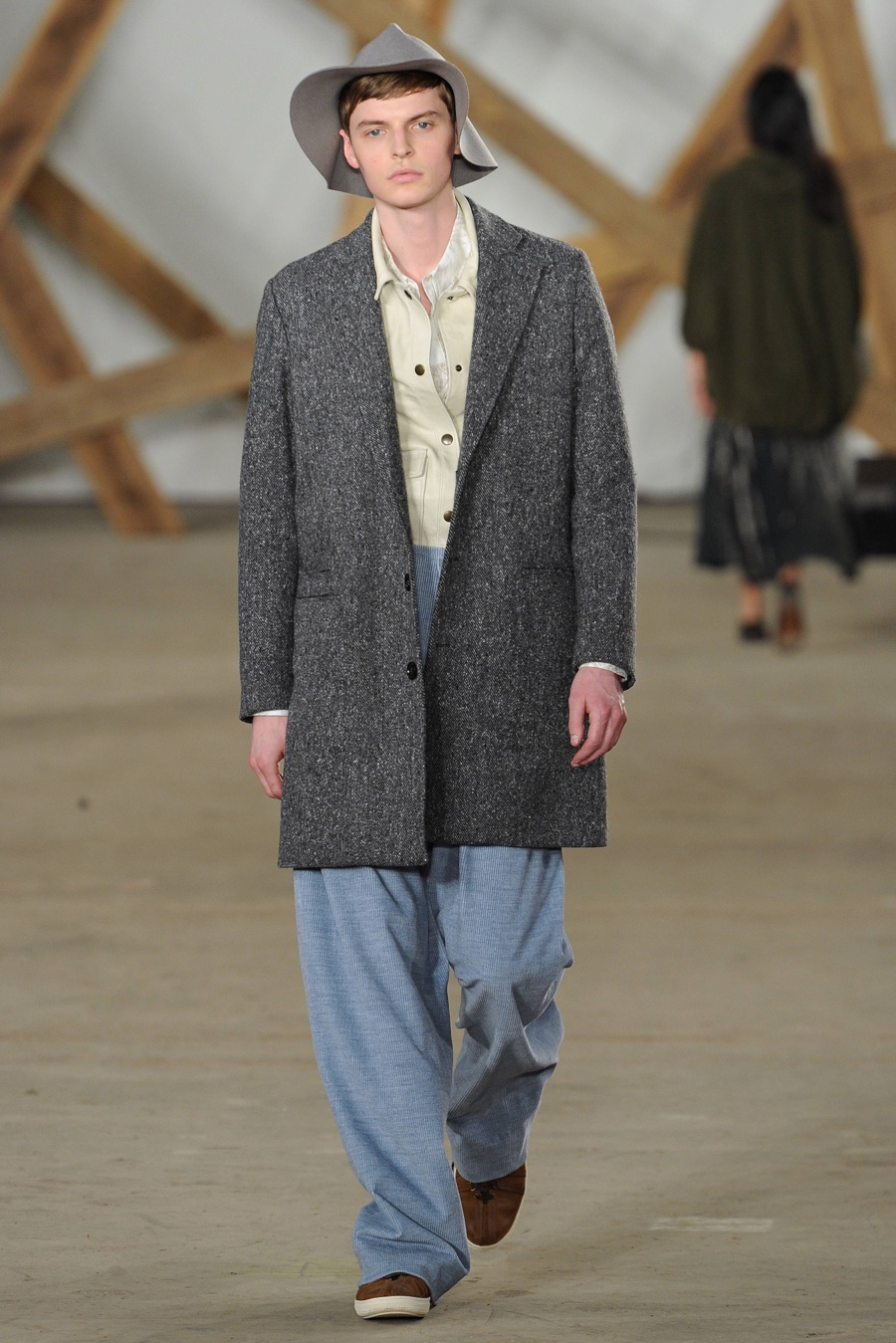Billy Reid Stands by Relaxed, Luxe Fashions for Fall