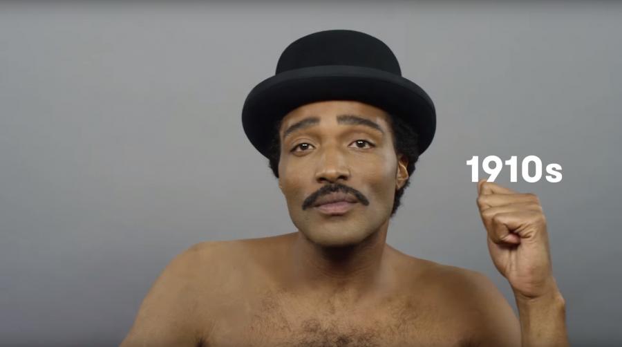 Black Mens Hairstyles 1910s