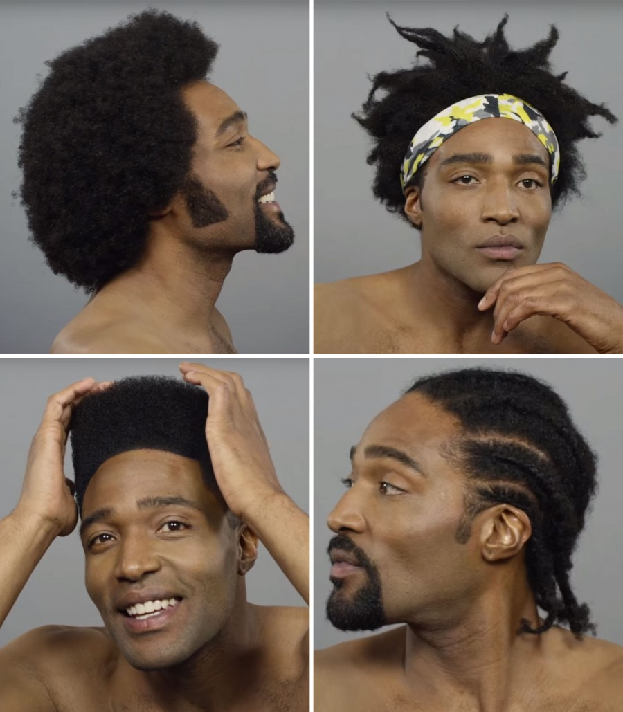 100 Years Of Black Hair Cut Revisits Iconic Men S Hairstyles The