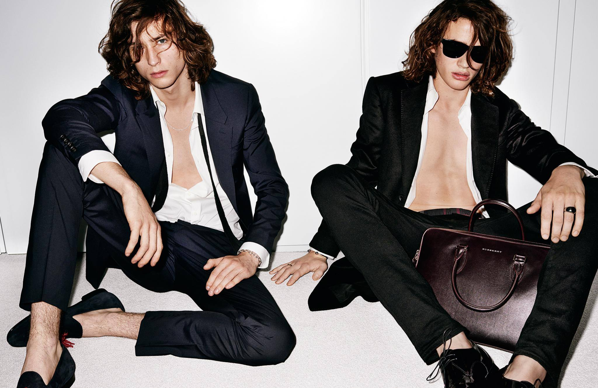 Burberry Eyewear & Tailoring Spotlighted in New Campaign Images