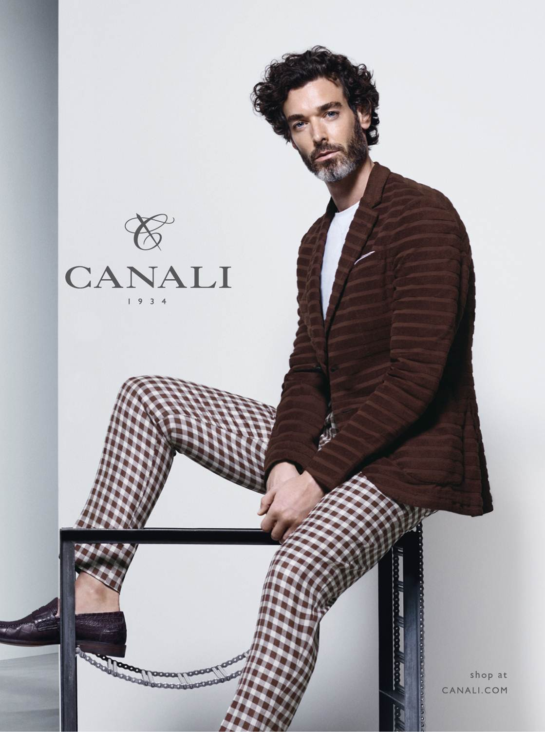 Canali Proposes Summertime Wardrobe Icons