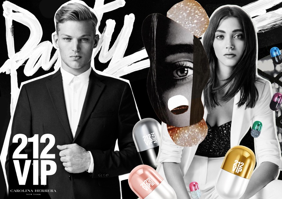 Carolina Herrera 212 Unveils Pills Fragrance Campaign