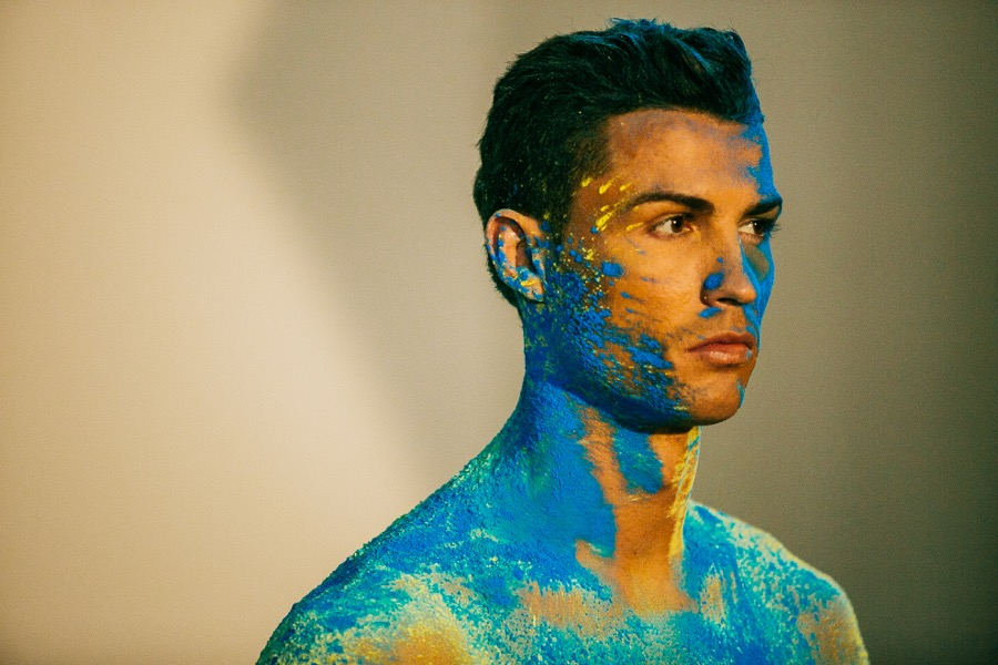 Cristiano Ronaldo Makes a Splash for CR7 Spring Campaign