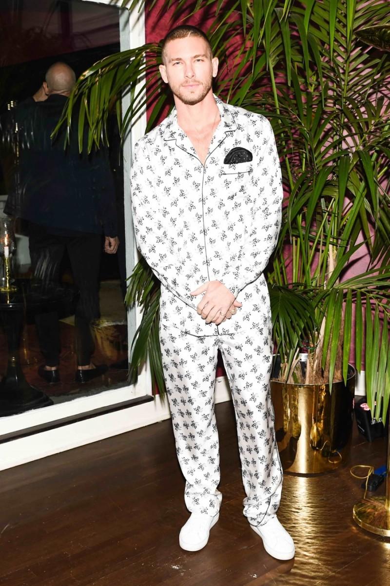 Adam Senn in Dolce & Gabbana