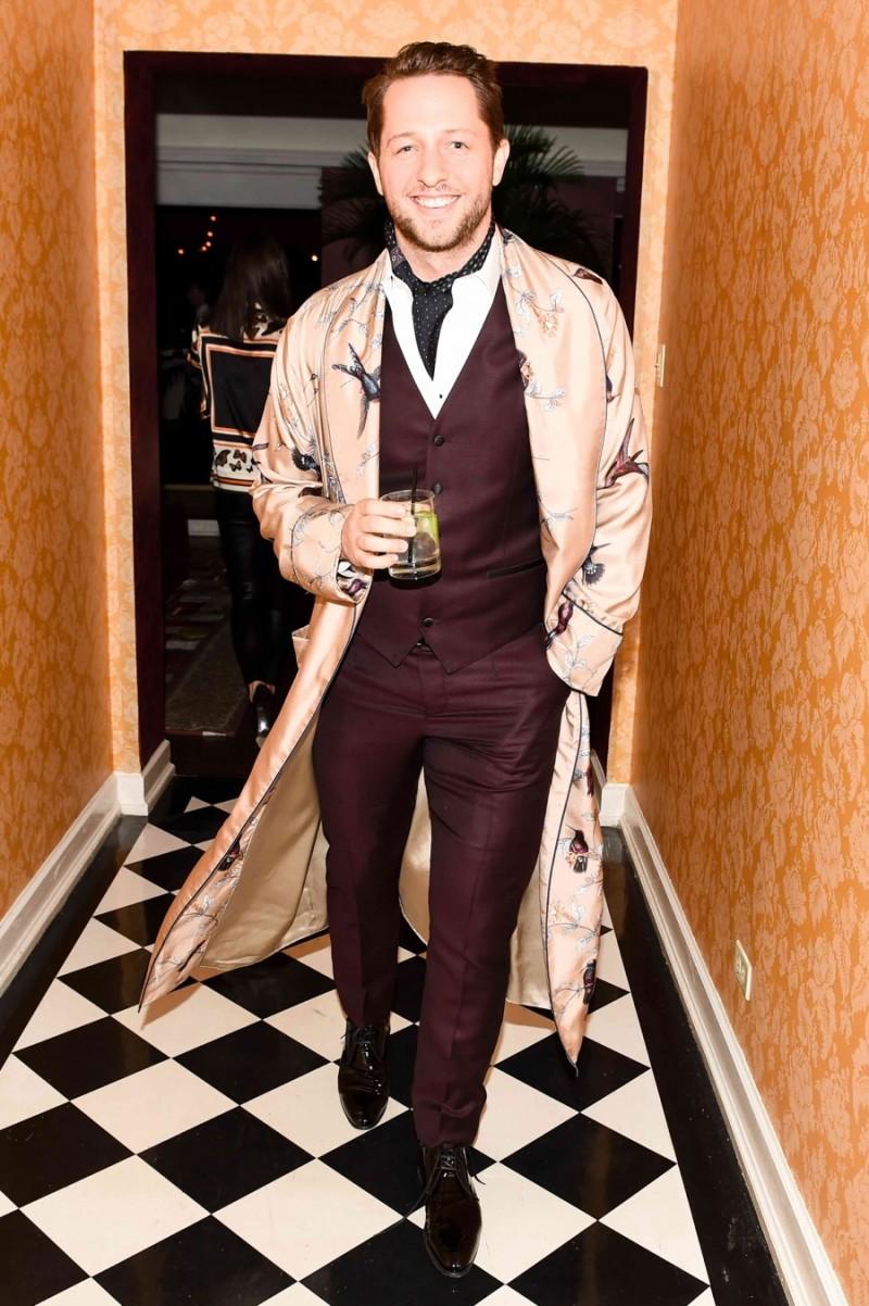 Derek Blasberg in Dolce & Gabbana