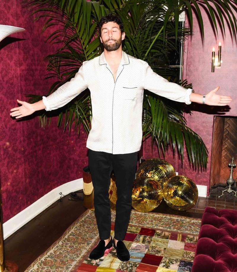 Noah Mills in Dolce & Gabbana