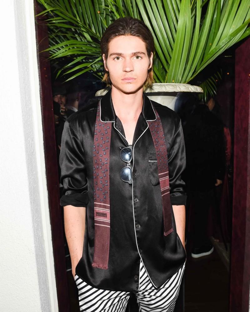 Will Peltz in Dolce & Gabbana