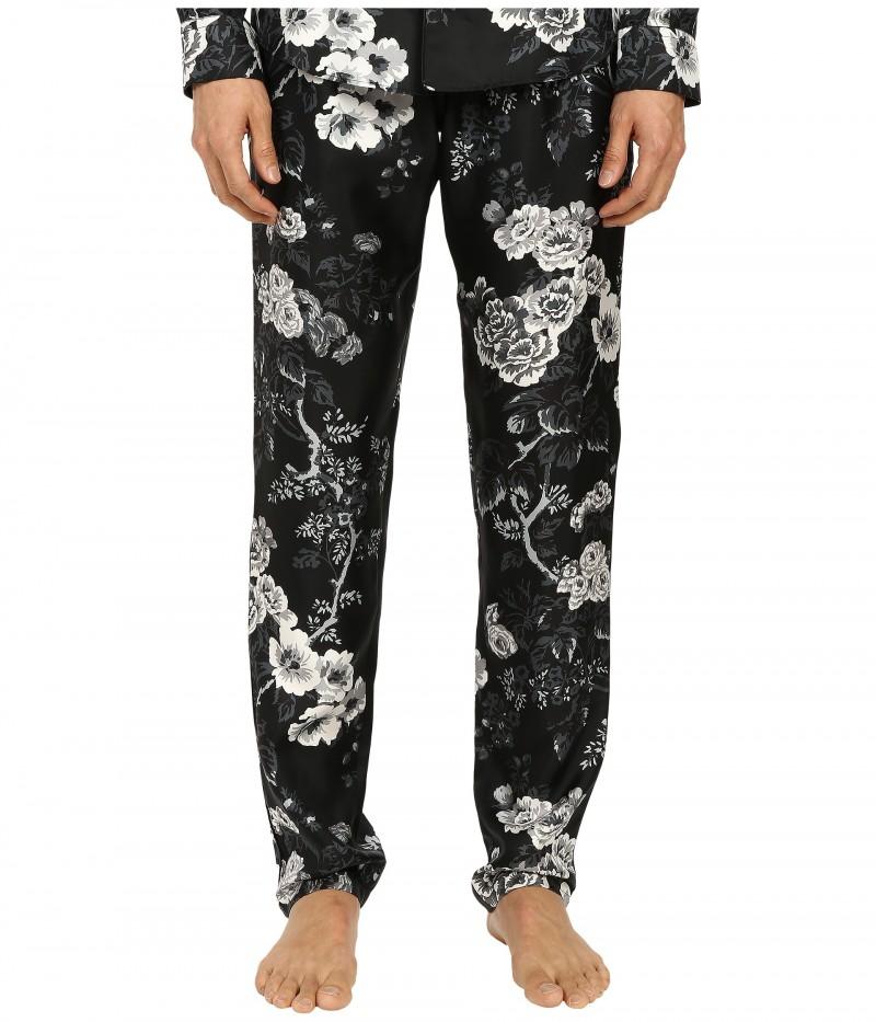 Dolce & Gabbana Rose Print Pajama Pants